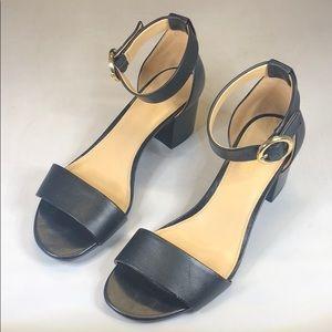 [234] Michael Michael Kors 6 M Block Heel Sandals